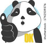 Cute And Funny Panda Character...