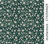 simple cute pattern in small... | Shutterstock .eps vector #1742544629