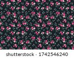 cute floral pattern in the... | Shutterstock .eps vector #1742546240