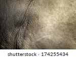 White Rhino Skin Texture...