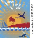 traveling | Shutterstock .eps vector #174255950