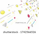 abstract colorful pattern... | Shutterstock .eps vector #1742566526