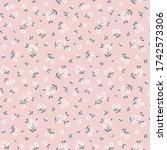 elegant floral pattern in small ...   Shutterstock .eps vector #1742573306