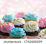 Festive Delicious Cupcakes For...