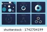 big set of infographics...   Shutterstock .eps vector #1742704199