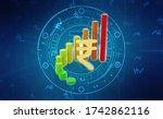 indian rupee background  stock...   Shutterstock . vector #1742862116