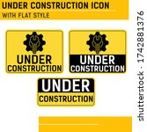 under construction premium icon ...