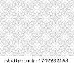 wallpaper in the style of... | Shutterstock . vector #1742932163