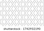 the geometric pattern with... | Shutterstock . vector #1742932190