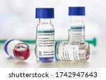 chloroquine phosphate  generic... | Shutterstock . vector #1742947643