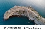 aerial view of the sea and... | Shutterstock . vector #1742951129