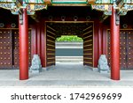 Gate Of Traditional Chinese...
