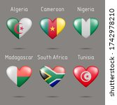Flags Of African Countries In...