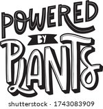 hand drawn lettering with text... | Shutterstock .eps vector #1743083909