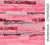 distressed stripes. chalk... | Shutterstock .eps vector #1743192623