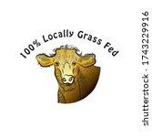 bull vector illustration. bull...   Shutterstock .eps vector #1743229916