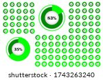 percentage white circle diagram....
