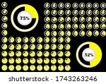 percentage white circle diagram....