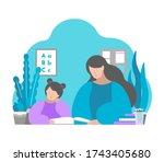 vector illustration in flat...   Shutterstock .eps vector #1743405680