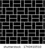 brick patterns for patios and...   Shutterstock .eps vector #1743410510