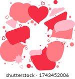 colourful speech bubbles....
