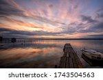 Mood And Tranquility At A Lake...