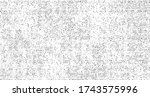 subtle halftone grunge urban... | Shutterstock .eps vector #1743575996