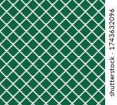 seamless pattern. geometric... | Shutterstock .eps vector #1743632096