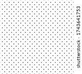 circles seamless print. dots... | Shutterstock .eps vector #1743641753