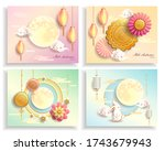 mid autumn festival   chinese... | Shutterstock .eps vector #1743679943