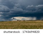 Thunderstorm Clouds Over The...