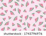 vector background with... | Shutterstock .eps vector #1743796976