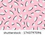 vector background with... | Shutterstock .eps vector #1743797096
