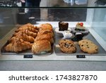 Assorted Bakery Pastry Display...