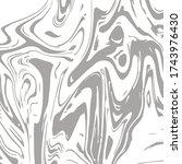 gray marble texture vector... | Shutterstock .eps vector #1743976430