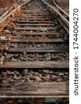 Old Railroad Tracks In The...
