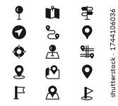 location solid icon pack. pin...