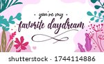 love quotes you are my favorite ... | Shutterstock .eps vector #1744114886