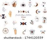 celestial magic illustration of ...   Shutterstock .eps vector #1744120559