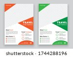 holiday  summer travel and...   Shutterstock .eps vector #1744288196