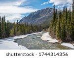 Stunning Wheaton River In Yukon ...