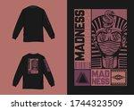 industrial street wear long... | Shutterstock .eps vector #1744323509