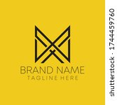 m x real estate letter logo...