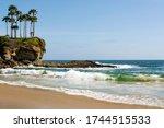 Tropical Ocean Paradise. Waves...