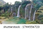 Ban Gioc Waterfall In Vietnam...