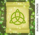 triquetra symbol spell | Shutterstock .eps vector #174469628