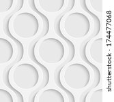 seamless circle background | Shutterstock .eps vector #174477068
