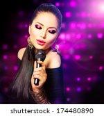 Beautiful Singing Girl. Beauty...