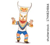 Cartoon Illustration Of Phi Ta...