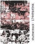 carpet designs  ancient carpet  ...   Shutterstock .eps vector #1744964546